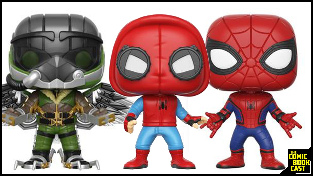 Spider Man Homecoming Pop Funko Line Revealed Youtube