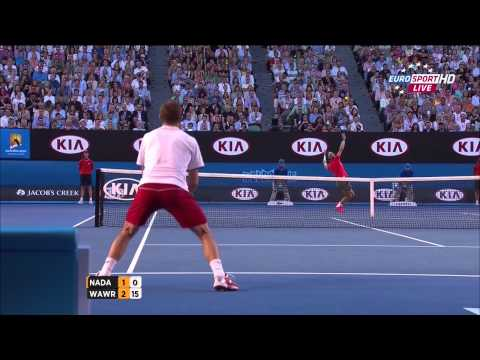 Rafael Nadal Vs Stanislas Wawrinka Australian Open 2014 FINAL 1 SET/FIRST SET 720 HD
