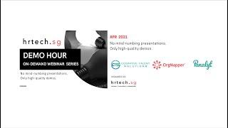 Demo Hour - Organisational Network Analysis (Apr 2021)