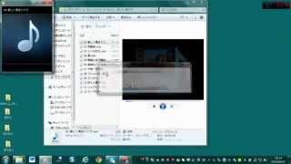 メディアプレイヤー12でCDを取り込み、ファイルを作成する方法