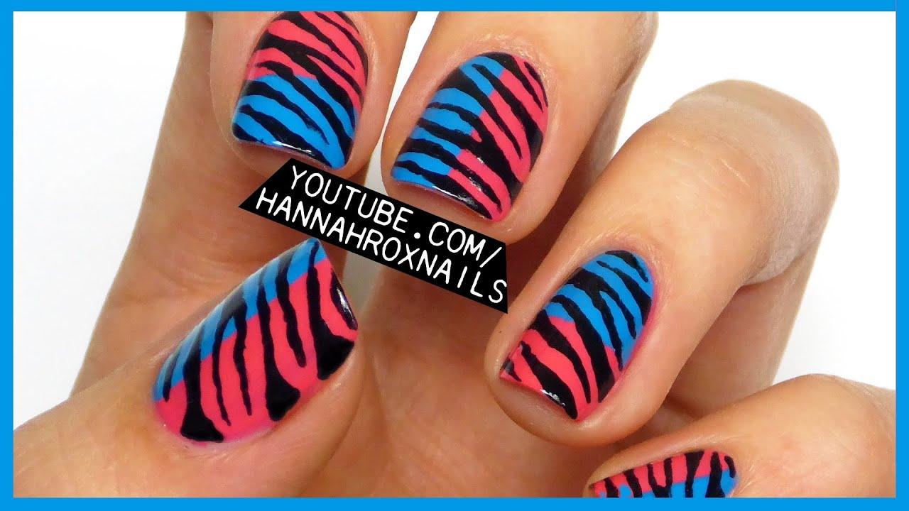 lily allen's zebra color blocking