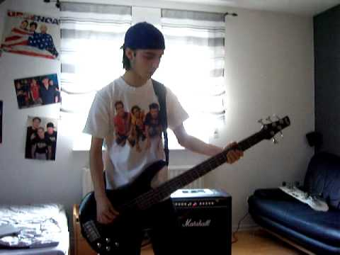 Angels and Airwaves - Everything´s Magic bass cover