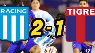 Racing vs Tigre 2-1 Resumen y Goles - Copa Superliga 2019