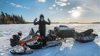 CAMPING on the Ice in the Most EXTREME Temperatures! ( -25F )