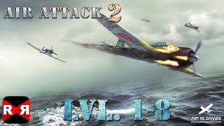 AirAttack 2 Lvl. 1-8 (By Art In Games) - iOS / Android - Gameplay Video