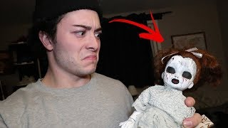 A FAN SENT ME THIS CREEPY DOLL IN THE MAIL...