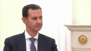 В Москве накануне прошли переговоры лидеров России и Сирии.