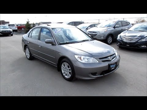 2005 honda civic start up walkaround and vehicle tour