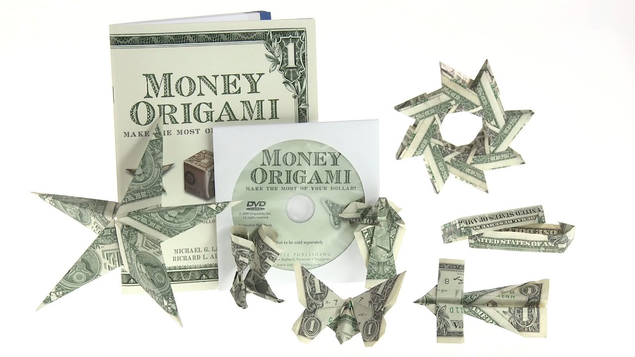 Money Origami: 21 designs using just dollar bills - YouTube - photo#21