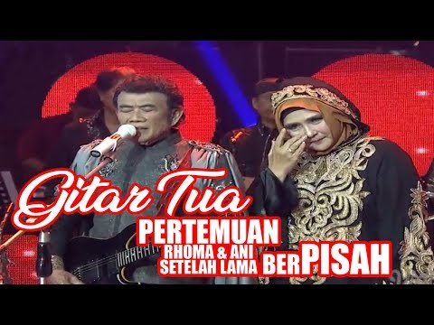 Gitar Tua by Rhoma Irama, kali pertama Yati Octavia(ANI) sepanggung. BAPER ABISS