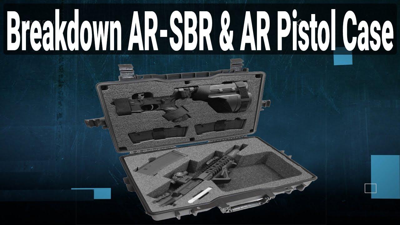 BreakDown AR SBR & AR Pistol Case - Video