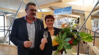 Anna Hubáčková - vyhlášení výsledků senátních voleb 2. kolo - poděkování