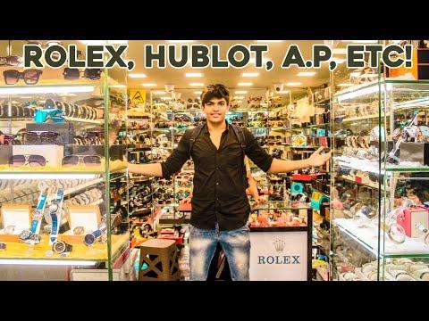 MUMBAI'S BIGGEST WATCH COLLECTION ( Expensive Rolex In Mumbai)