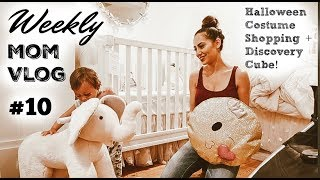 WEEKLY MOM VLOG #10 | Toddler HALLOWEEN COSTUME SHOPPING 2018 | Discovery Cube