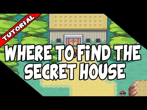 Secret House Location In Pokemon Fire Red