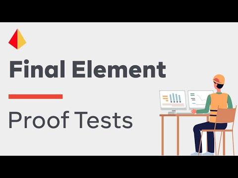 Final Element Proof Tests