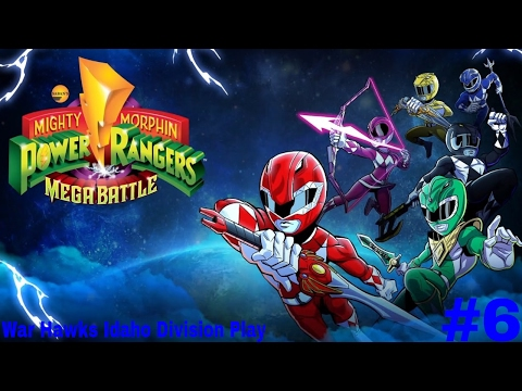 War Hawks Idaho Division Play Power Rangers: Mega Battle Part 6: Dark Dimension Smark Dimension