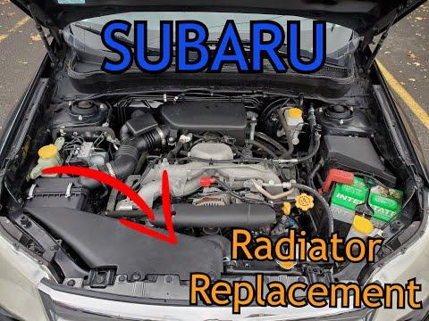 DIY: Subaru Forester Radiator Replacement Tutorial