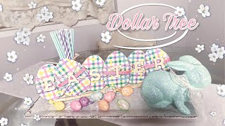 EASTER SIGN DIY | Dollar Tree Easter DIY