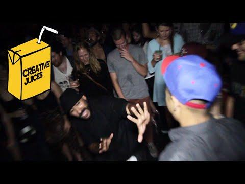 Drunk Guy Gets Denied In Dance Circle By Boogie Frantick! Dancer Etiquette | Creative Juices
