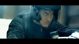 أمير خان في سرقته لبنك نيويورك في فيلم Dhoom 3
