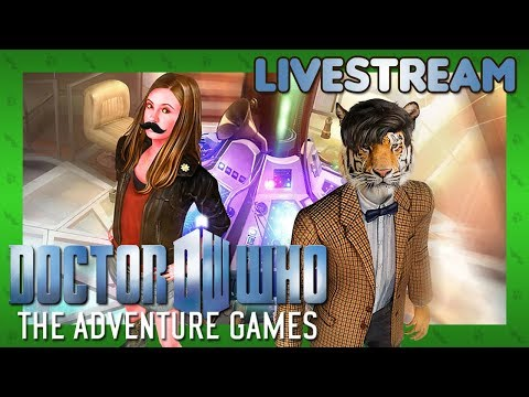 DOCTOR WHAT HAPPEN? - Doctor Who: The Adventure Games (Steam) - Livestream