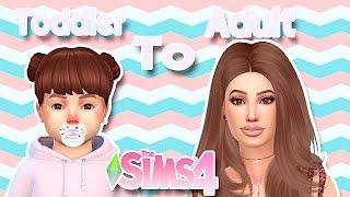 The Sims 4   Create a Sim- Toddler to Adult (Bebê para Adulto)