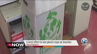 Support grows to ban plastic bags in Palm Beach County