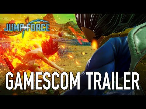 JUMP Force - PS4/XB1/PC - gamescom trailer