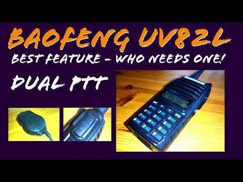 BAOFENG UV-82L How to use Split PTT Feature