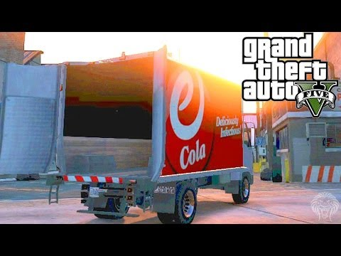 GTA 5 Online: How To Open The Back Doors Of A Truck!
