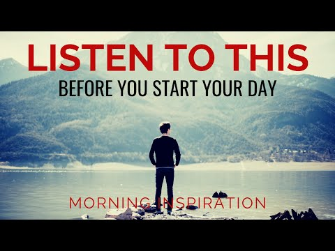 BEGIN YOUR DAY WITH COURAGE | God Is With You - Morning Inspiration - Morning Prayer & Blessings