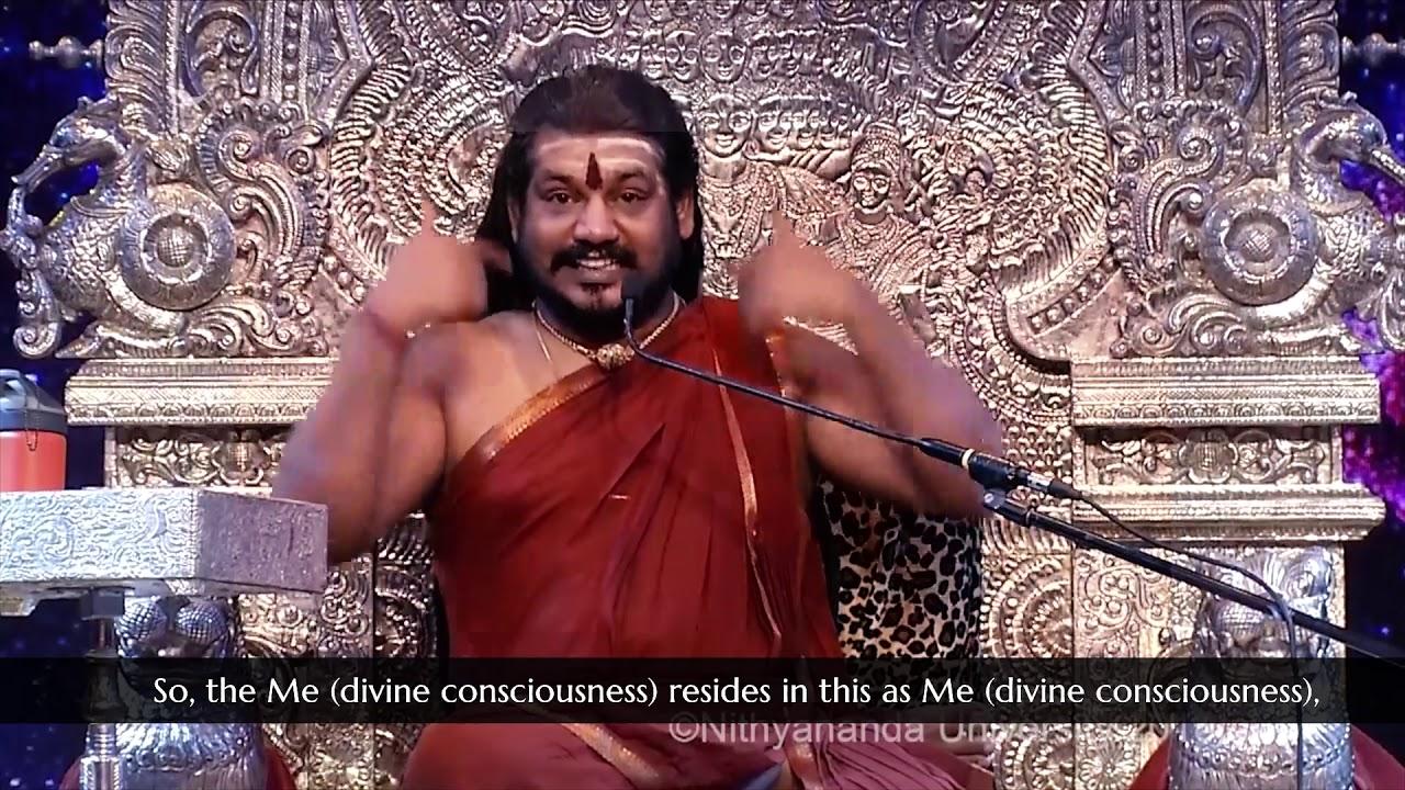 I Can Only Talk To Me Avatar Paramahamsa Nithyananda