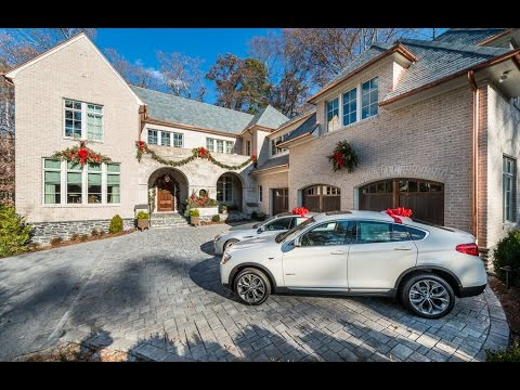 Atlanta Homes And Lifestyles 2014 Holiday Designer Showhouse   2865  Habersham Rd   YouTube