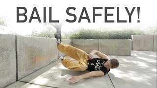 Bail Safety Tips - Rilla Hops - Parkour | Freerunning
