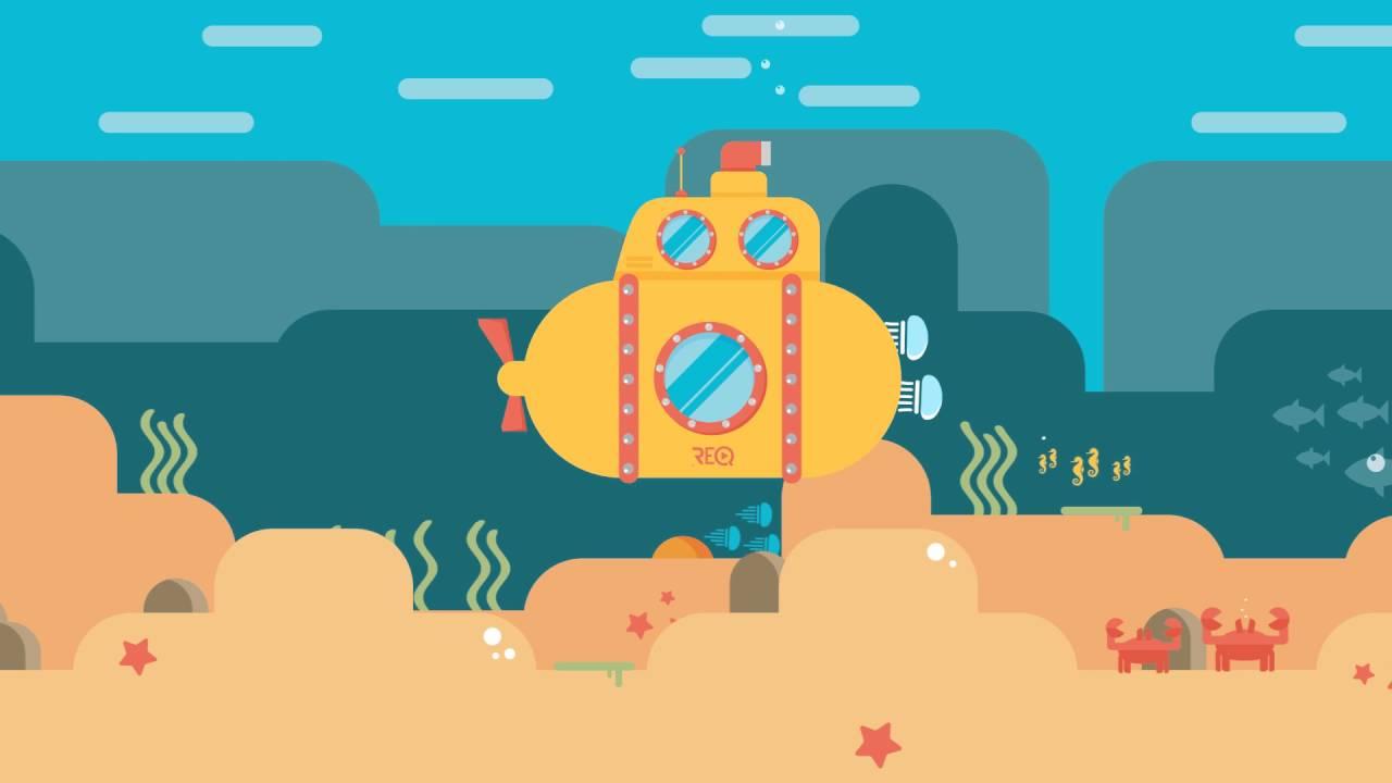 Motion design - Submarine Exploration © / Réalisation : Gaël CARMONT