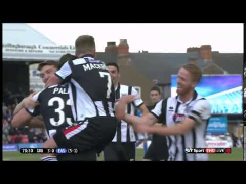 Goals! Check out some of  Ollie Palmer's great goals during Grimsby Town loan spell