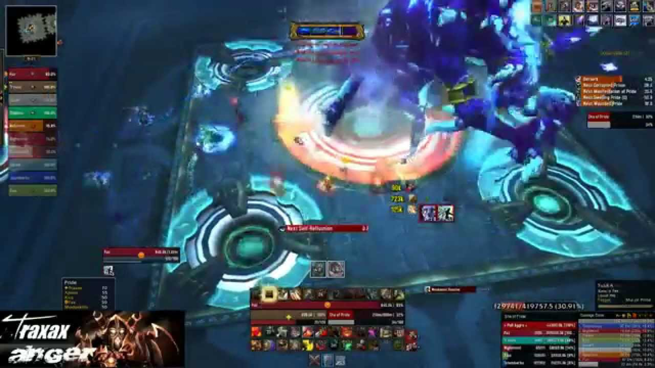Wow ui warrior tank traxax of us stormrage 5 4 youtube for Wow portent 5 4