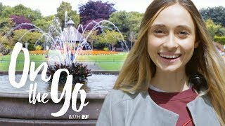 Maria enjoys St Stephen's Green in Dublin – On the go with EF #74