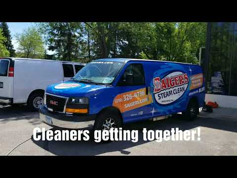 Minnesota Carpet cleaners getting together to clean and try out equipment and chemistry