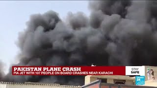 Pakistan Plane Crash: Pia Jet With 107 People On Board Crashes Near Karachi