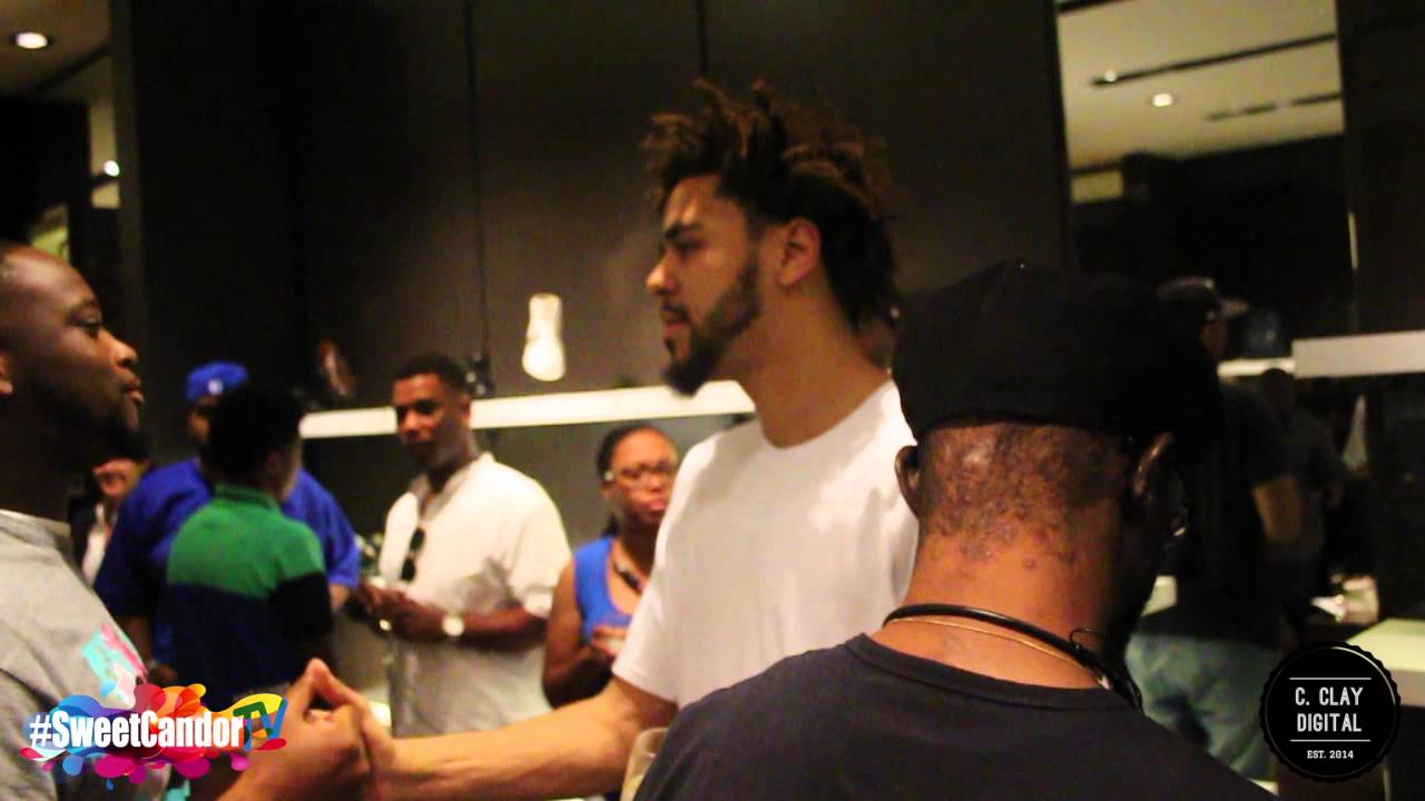 J Cole Meet Greet At Ballys In Atlanta Youtube