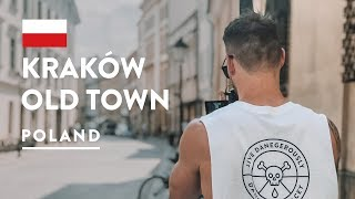 LARGEST IN EUROPE! Krakow Old Town Square and City Centre | Poland Travel Vlog 2018
