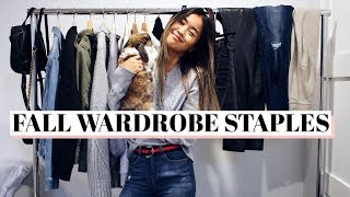 BUILDING A FALL WARDROBE | MUST-HAVE STAPLES