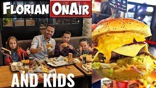 Ces ENFANTS valideront-ils les BURGERS, PIZZAS, ... de ce RESTO ? - Florian OnAir & Kids (1)