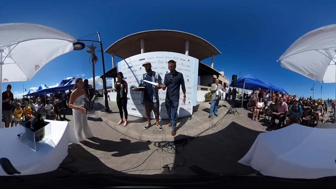 Vidoe a 360 - I festival de cocteleria del Municipio de La Oliva