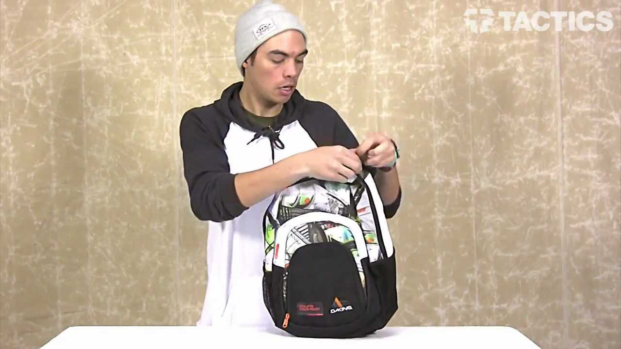 Dakine 2013 Campus Backpack Review - Tactics.com - YouTube