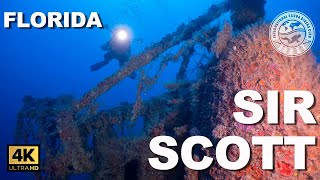 Tec #Wreck Diving: Sir Scott (Miami, Florida)