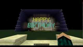 Happy Birthday Minecraft Style!