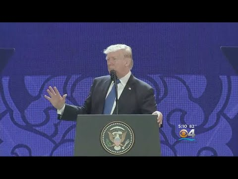 Trump, Putin Meet Briefly At Economic Summit